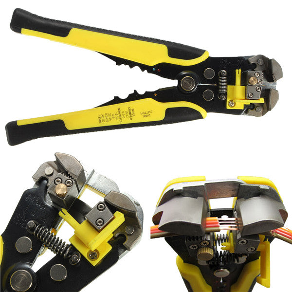 DANIU Multifunctional Automatic Wire Stripper Crimping Pliers Terminal Tool
