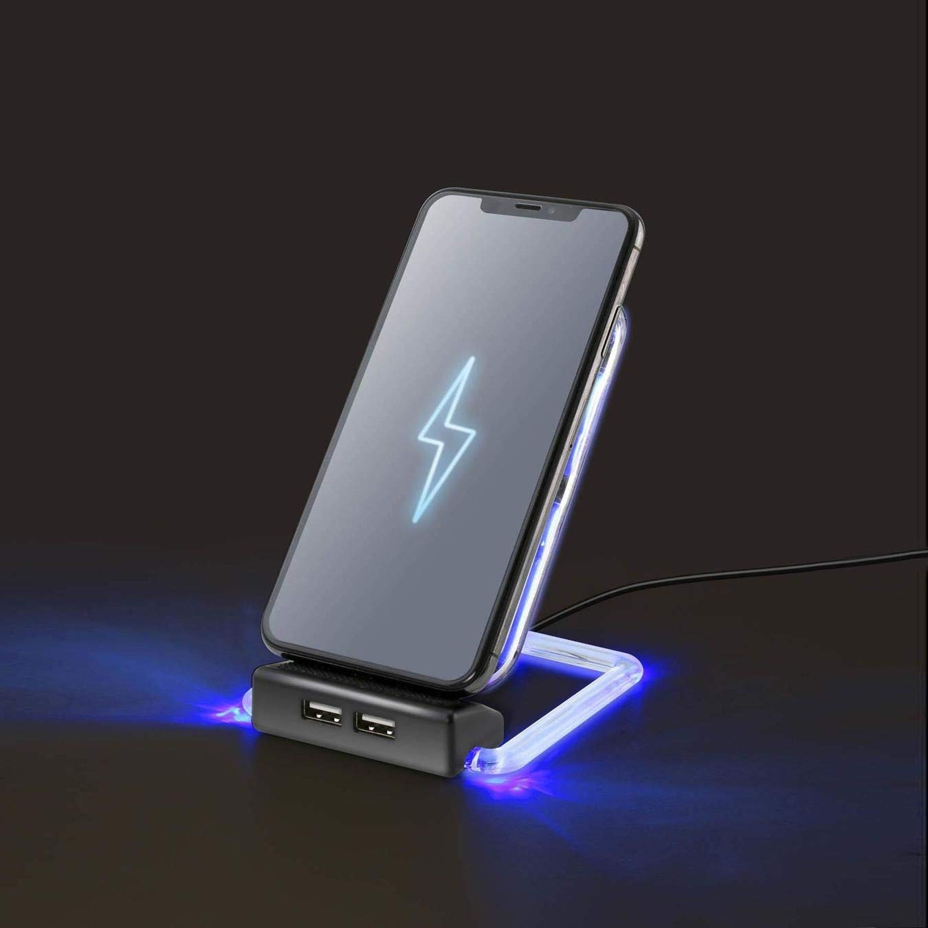 HomeJazz™ LED Wireless Phone Charger