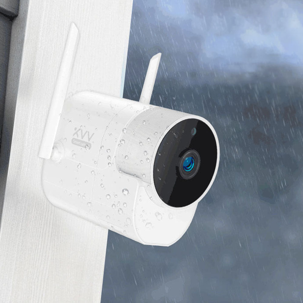 HomeAlive™ Smart Panoramic Camera Indoor Outdoor Waterproof Infrared Night Vision