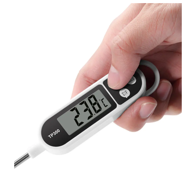 HomeAlive™ Digital Food Thermometer Kitchen Pen Shape BBQ Cooking