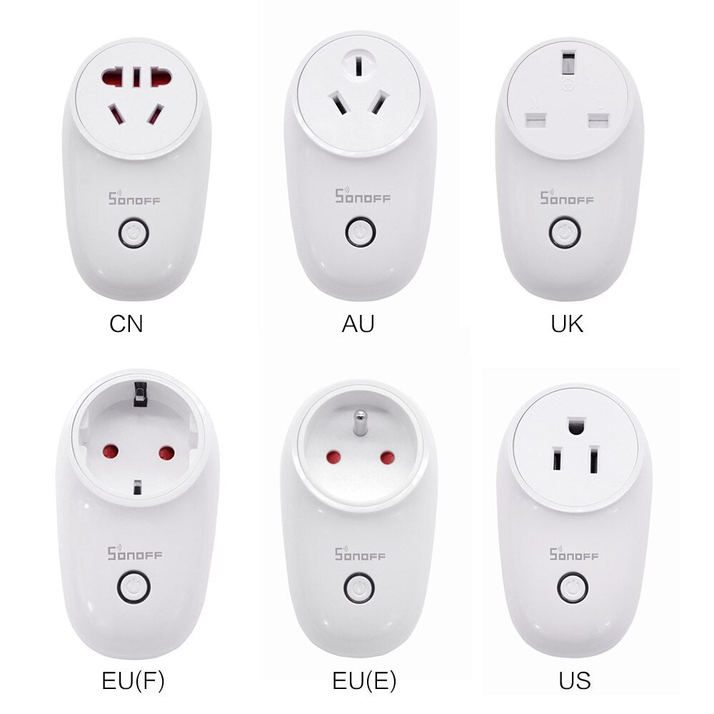 HomeAlive™ WiFi Smart Socket Wireless Plug Power Sockets