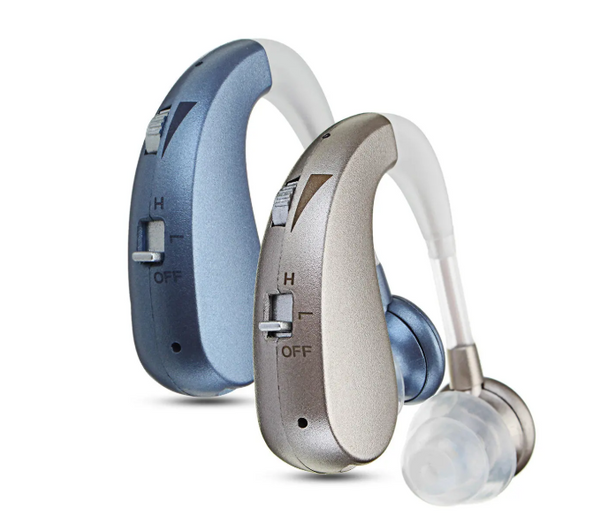 HomeAlive™ Rechargeable Hearing Aids Hearing Amplifier Silver