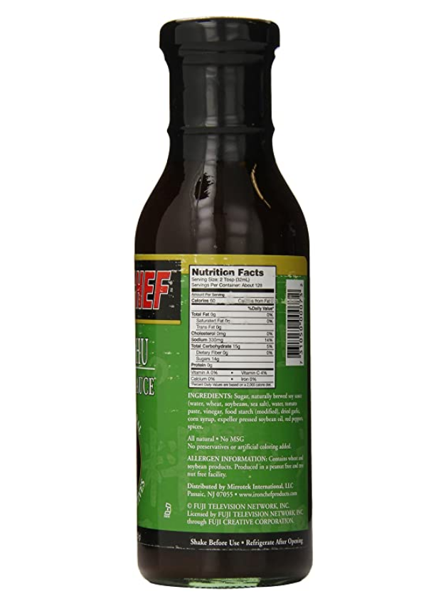 ChefDelight™ Mu-Shu Hoisin Sauce Iron Chef (6x14 Oz)