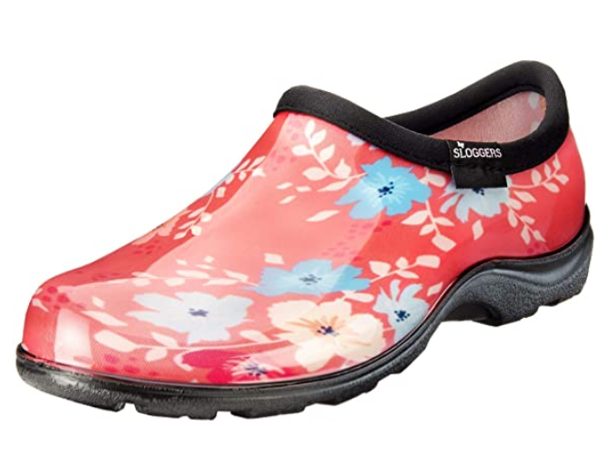 FootFit™ Sloggers Waterproof Comfort Woman's Garden Shoe