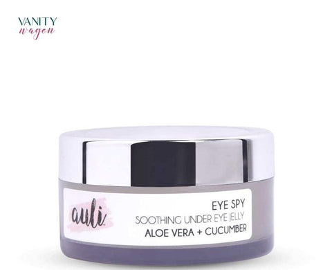 Vanity Wagon I Auli Lifestyle Eye Spy, Soothing Under Eye Jelly with Aloe Vera and Cucumber