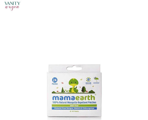 Vanity Wagon I Mamaearth Natural Mosquito Repellent Patches for Babies with 12 Hour Protection