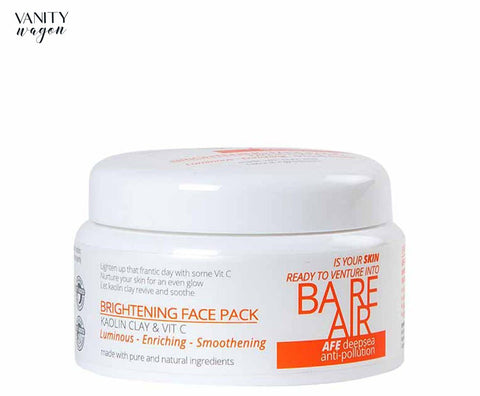 Vanity Wagon I BareAir Brightening Face Pack with Kaolin Clay & Vitamin C