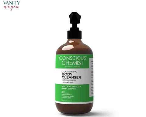 Vanity Wagon I Conscious Chemist Clarifying Body Cleanser with Matcha Green Tea and Hemp Seed Oil