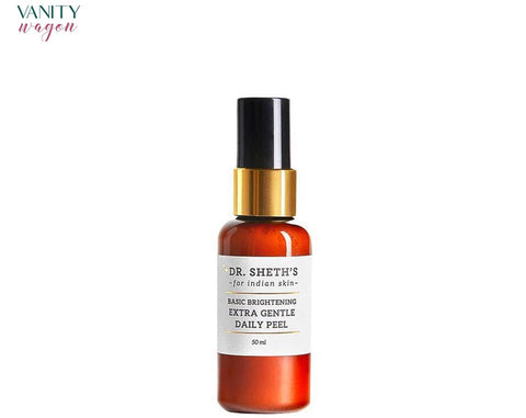 Vanity Wagon I Dr. Sheth's Basic Brightening Extra Gentle Daily Peel with Glycolic Acid, Lactic Acid and Pomegranate Extract