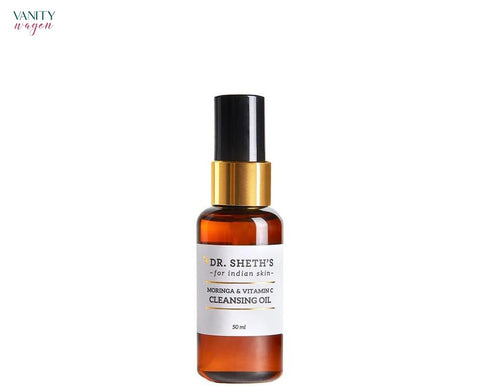 Vanity Wagon I Sheth's Moringa & Vitamin C Cleansing Oil with Vitamin E and Passion-fruit Oil