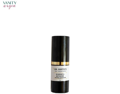 Vanity Wagon I Dr. Sheth's Rosehip & Retinoid Power Emulsion with Hyaluronic Acid