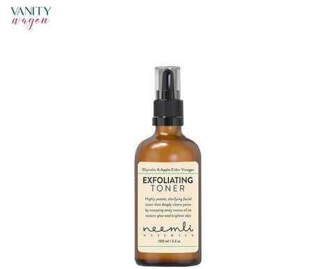 Vanity Wagon I Neemli Naturals Glycolic Acid & Apple Cider Vinegar Exfoliating Toner