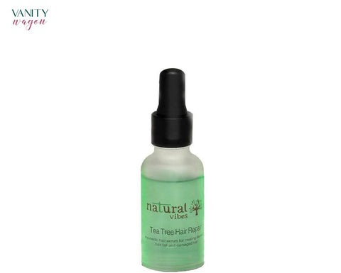Vanity Wagon I Natural Vibes Ayurvedic Tea Tree Hair Repair Serum