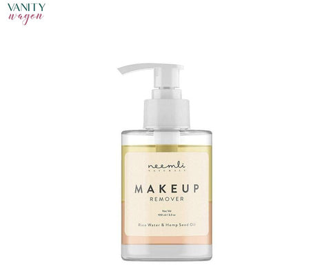 Vanity Wagon I Neemli Naturals Rice water and Hemp Seed oil Makeup Remover