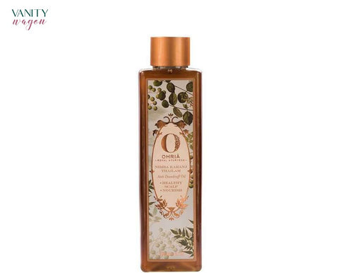 Vanity Wagon I Ohria Ayurveda Nimba Karanj Thailam, Anti-Dandruff Oil for Healthy and Nourish Scalp