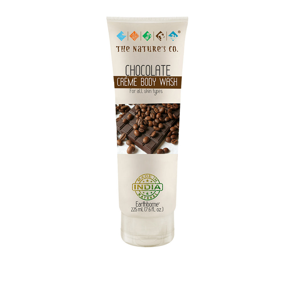Vanity Wagon | Buy The Nature's Co. Earthborne, Chocolate Crème Body Wash for All Skin Types