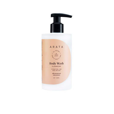 Vanity Wagon | Buy ARATA Body Wash with Coconut and Citrus Extract