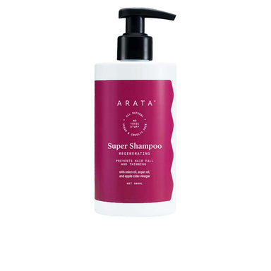 Vanity Wagon | Buy ARATA Super Shampoo with Apple Cider Vinegar, Onion & Argan Oil