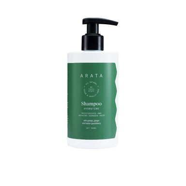 Vanity Wagon | Buy ARATA Shampoo Hydrating with Ginkgo, Ginger & Indian Gooseberry