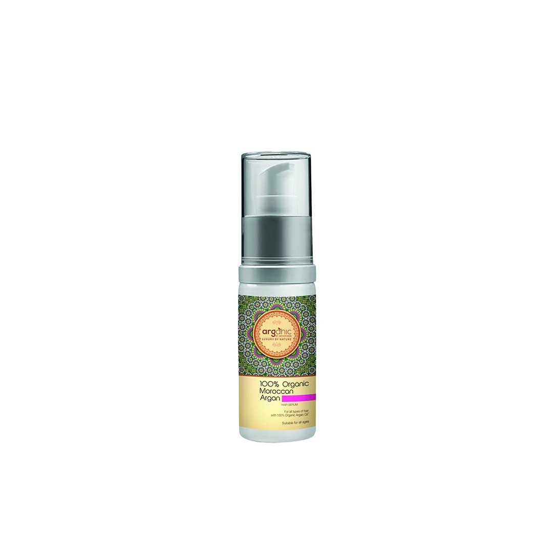 Arganic By Aryanveda, 100% Organic Moroccan Argan Hair Serum with Argan Oil -1