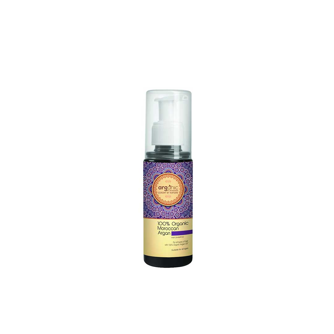 Arganic By Aryanveda, 100% Organic Moroccan Argan Hair Shampoo with Argan Oil -1