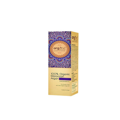 Arganic By Aryanveda, 100% Organic Moroccan Argan Hair Shampoo with Argan Oil -2