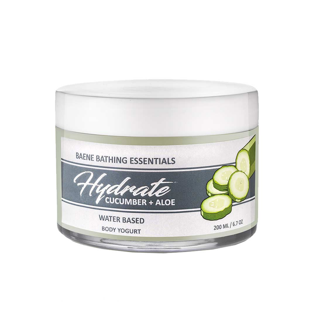 Baene Hydrate, Cucumber & Aloe Body Yogurt