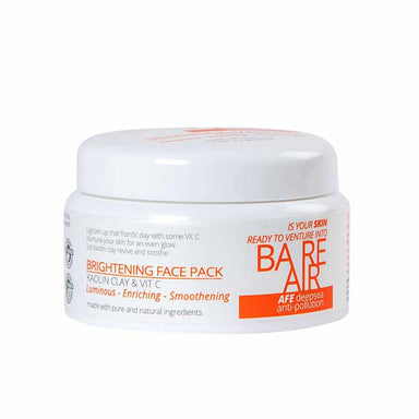 BareAir Brightening Face Pack with Kaolin Clay & Vitamin C -1