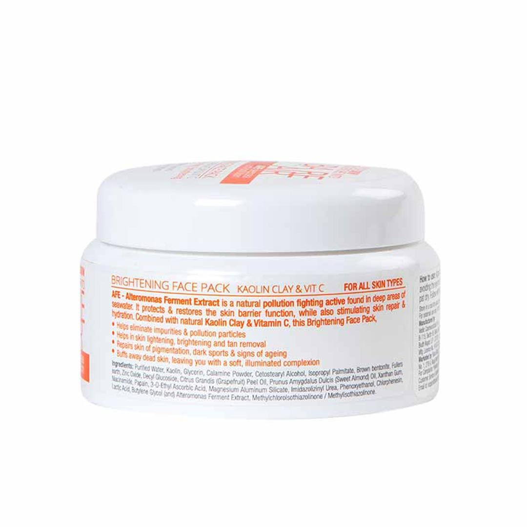 BareAir Brightening Face Pack with Kaolin Clay & Vitamin C -2