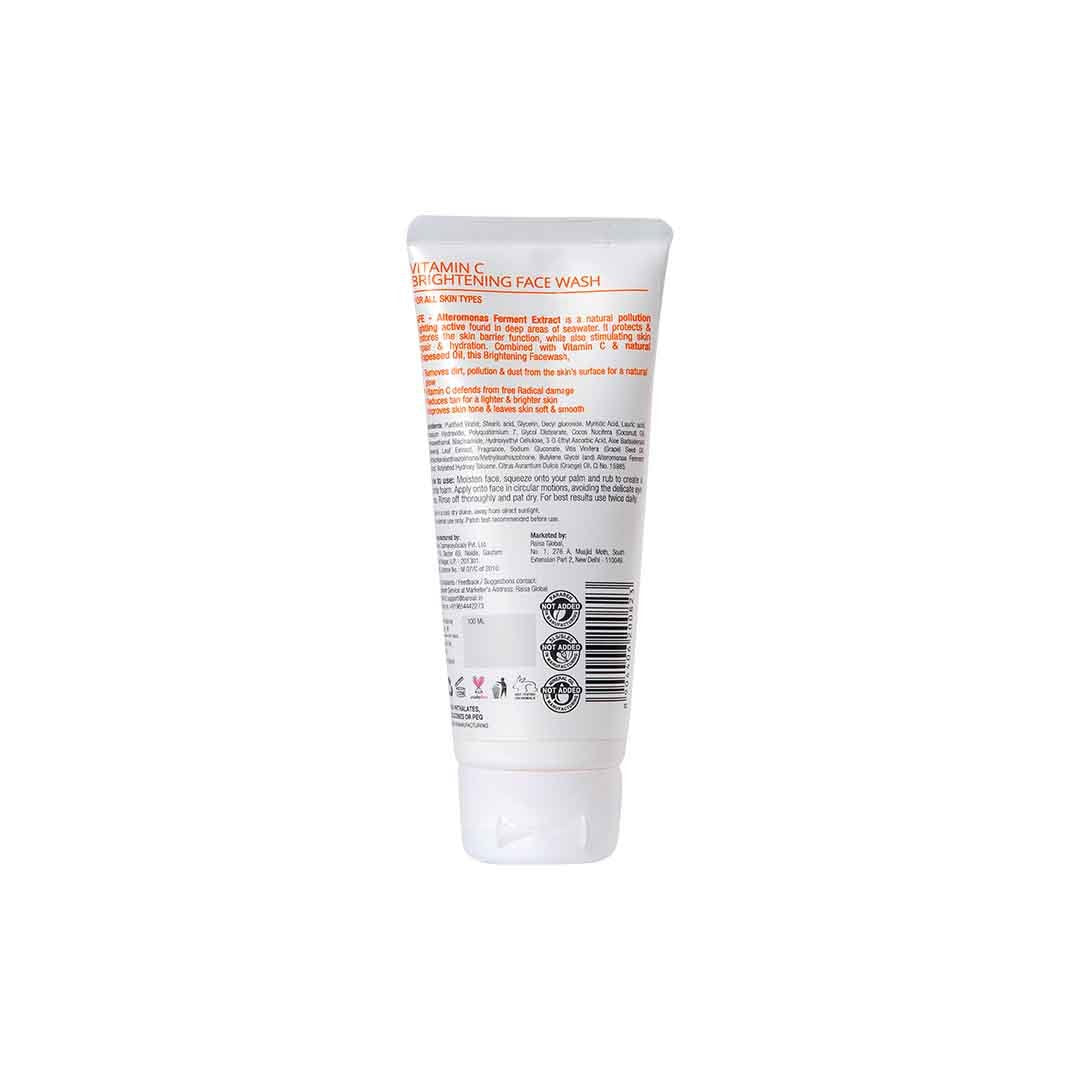 BareAir Brightening Face Wash with Vitamin C -2