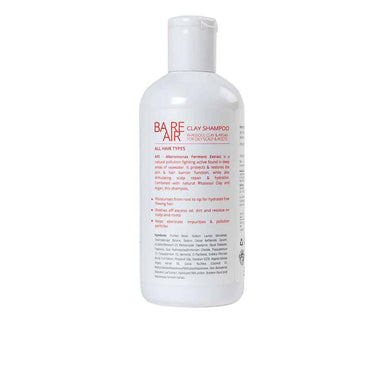BareAir Clay Shampoo for Oily Scalp and Roots with Rhassoul Clay and Argan -2