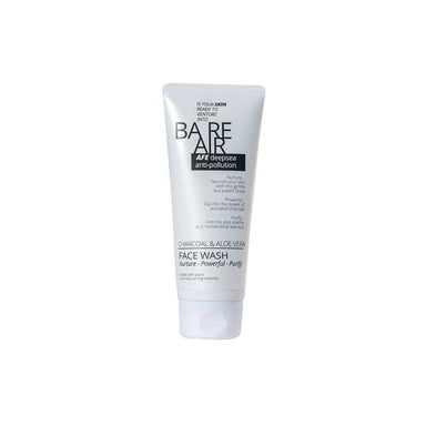 BareAir Face Wash with Charcoal and Aloe Vera -1