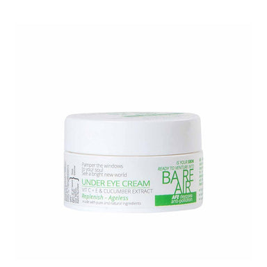 BareAir Under Eye Cream with Cucumber Extracts, Vitamin C and E -1