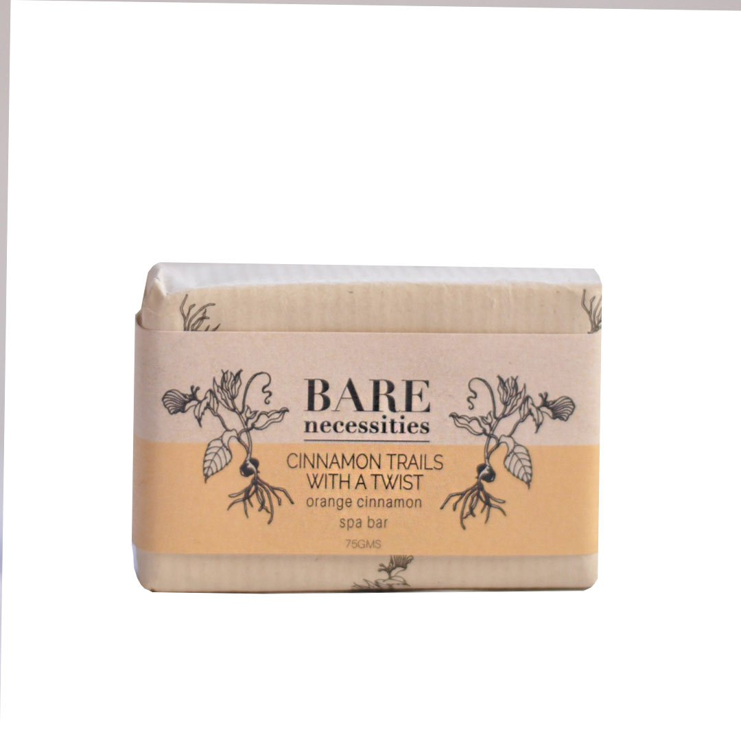 Vanity Wagon | Buy Bare Necessities Cinnamon Trails with a Twist, Orange Cinnamon Spa Bar