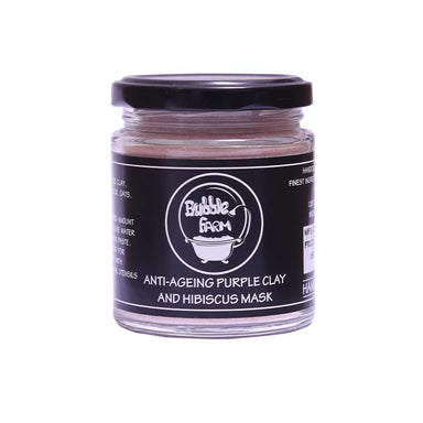 Vanity Wagon | Buy Bubblefarm Anti-Ageing Purple Clay & Hibiscus Mask