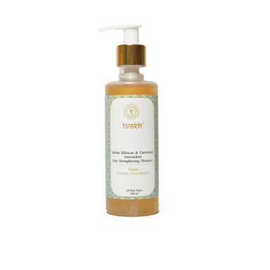 Vanity Wagon | Buy Tvakh Color Protecting & Hair Strengthening Shampoo With Indian Hibiscus & Carrotseed