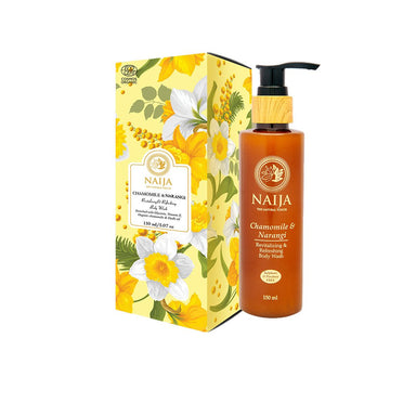 Vanity Wagon | Buy Naija Organic Chamomile & Narangi Revitalizing and Refreshing Body Wash