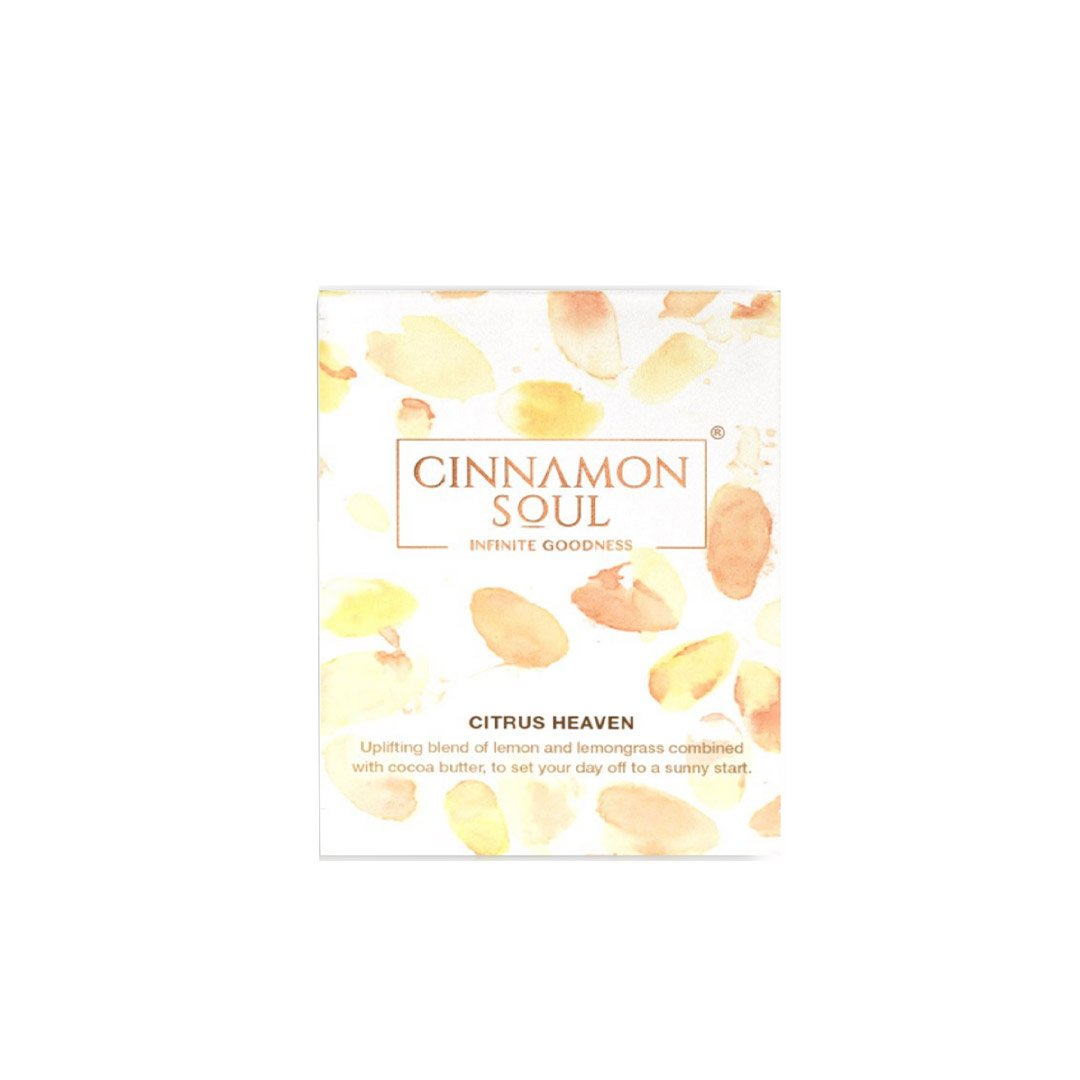 Cinnamon Soul Citrus Heaven Soap with Cocoa Butter