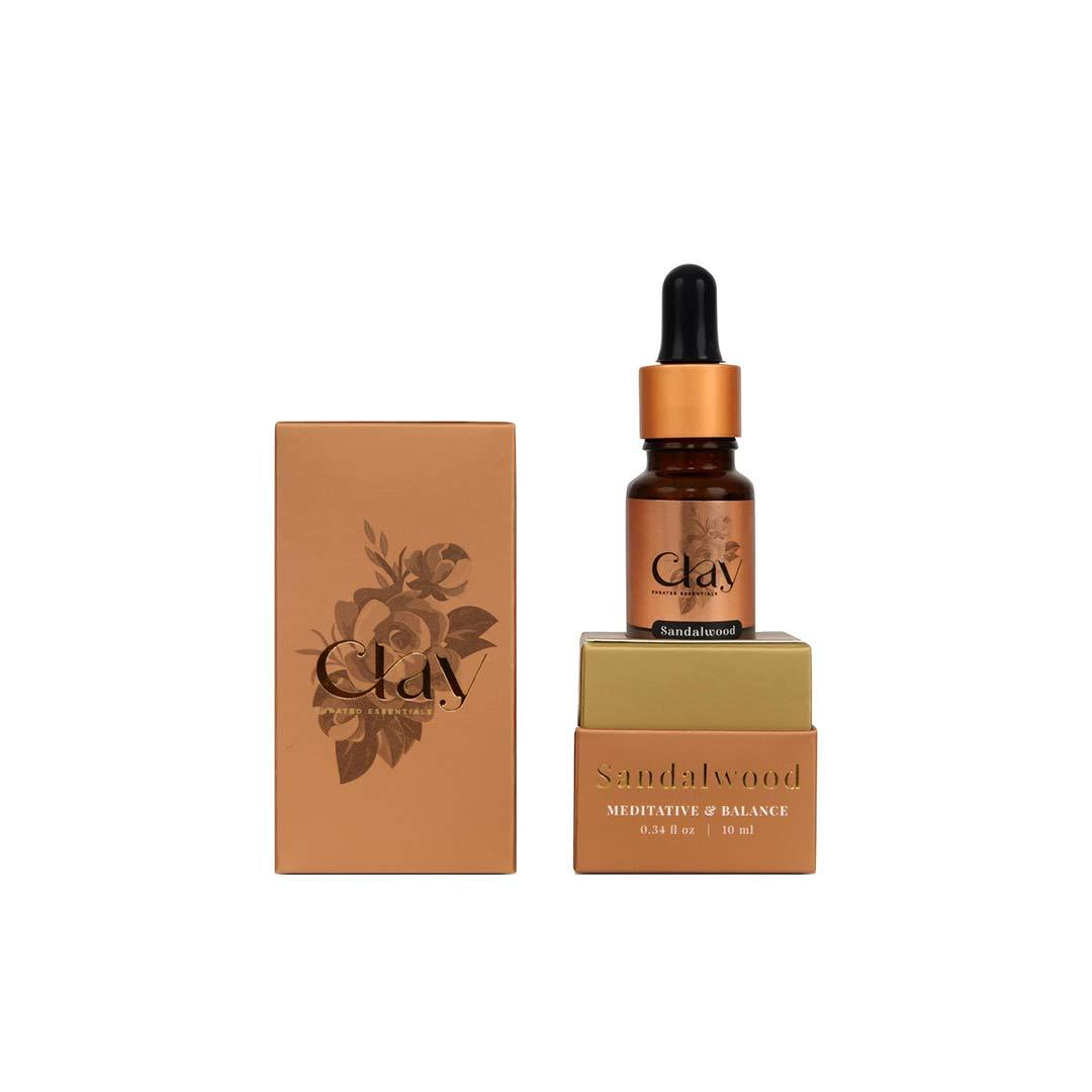 Vanity Wagon | Buy Clay Sandalwood Essential Oil