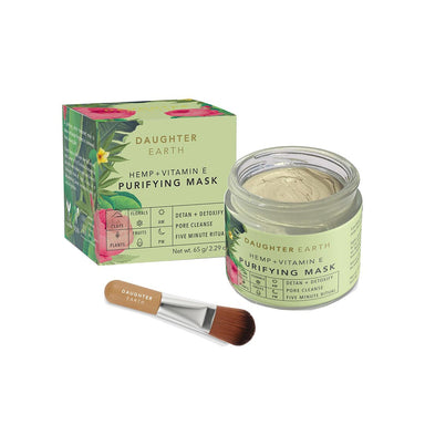 Vanity Wagon | Buy Daughter Earth Hemp + Vitamin E Purifying Mask