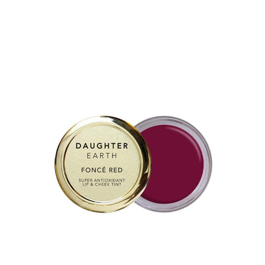 Vanity Wagon | Buy Daughter Earth Fonce Red, Super Antioxidant Lip & Cheek Tint