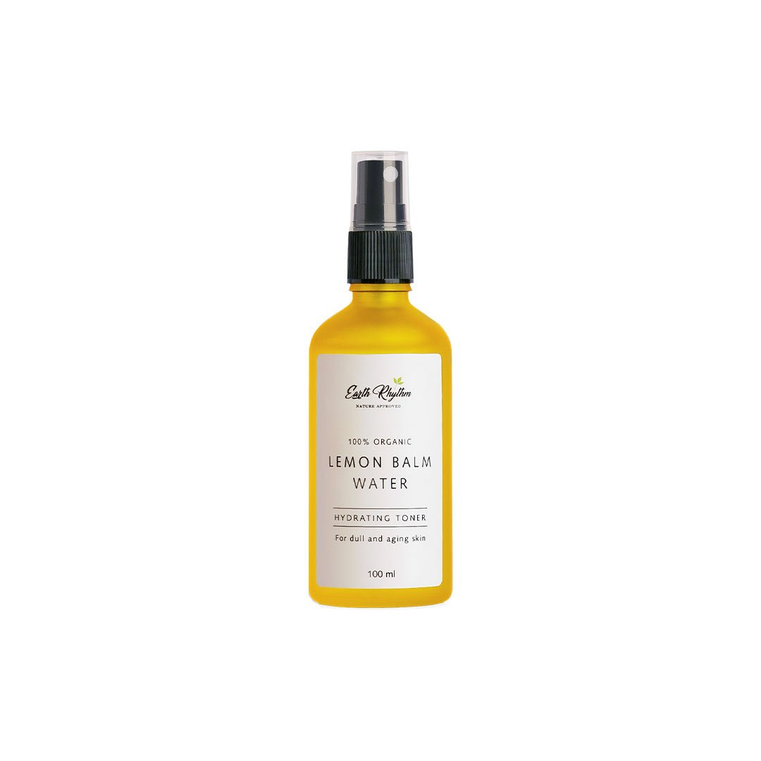 Vanity Wagon | Buy Earth Rhythm Lemon Balm Water, Hydrating Toner for Dull & Aging Skin