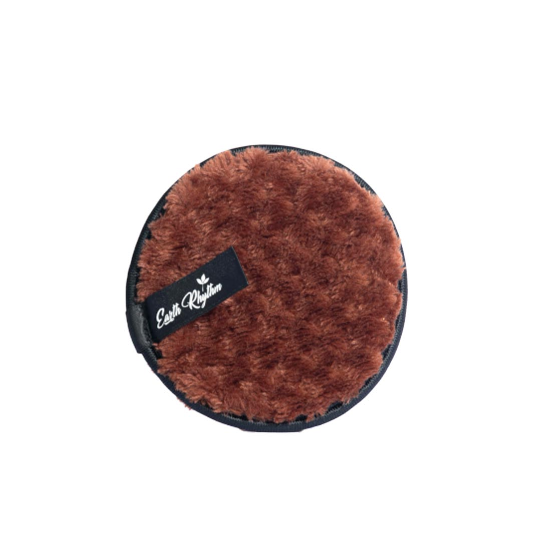 Vanity Wagon | Buy Earth Rhythm Reusable Makeup and Cleansing Pad, Brown