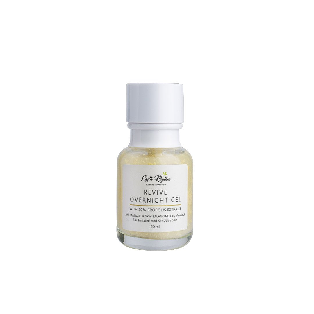 Vanity Wagon | Buy Earth Rhythm Revive Overnight Gel with 20% Propolis for Sensitive Skin