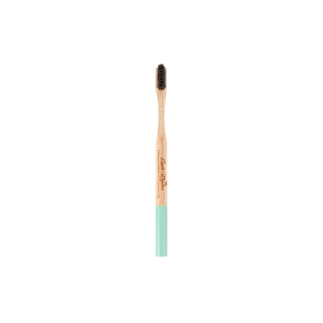 Vanity Wagon | Buy Earth Rhythm Bamboo Toothbrush, Green