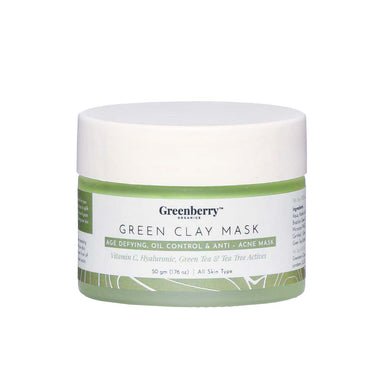 Vanity Wagon | Buy Greenberry Organics Green Clay Mask