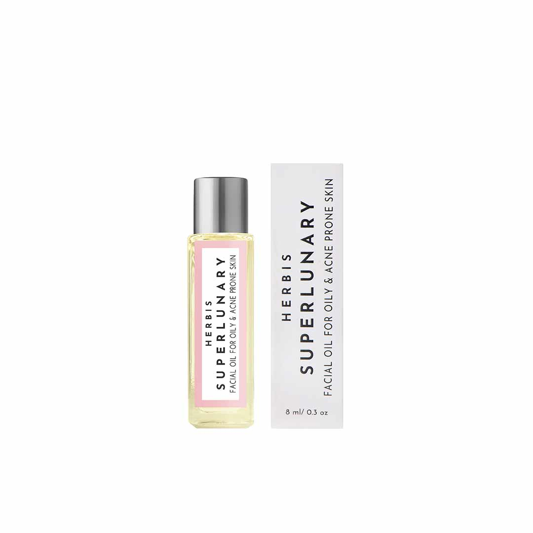 Vanity Wagon | Buy Herbis Botanicals Superlunary, Facial Oil for Acne Prone Skin