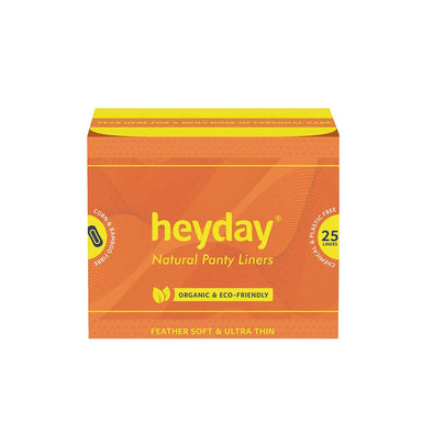 Vanity Wagon | Buy Heyday Natural & Organic Panty Liners (25 Liners)