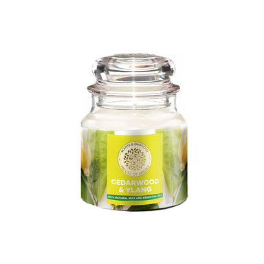 Vanity Wagon | Buy House of Aroma Cedarwood & Ylang Scented Candle for Aromatherapy