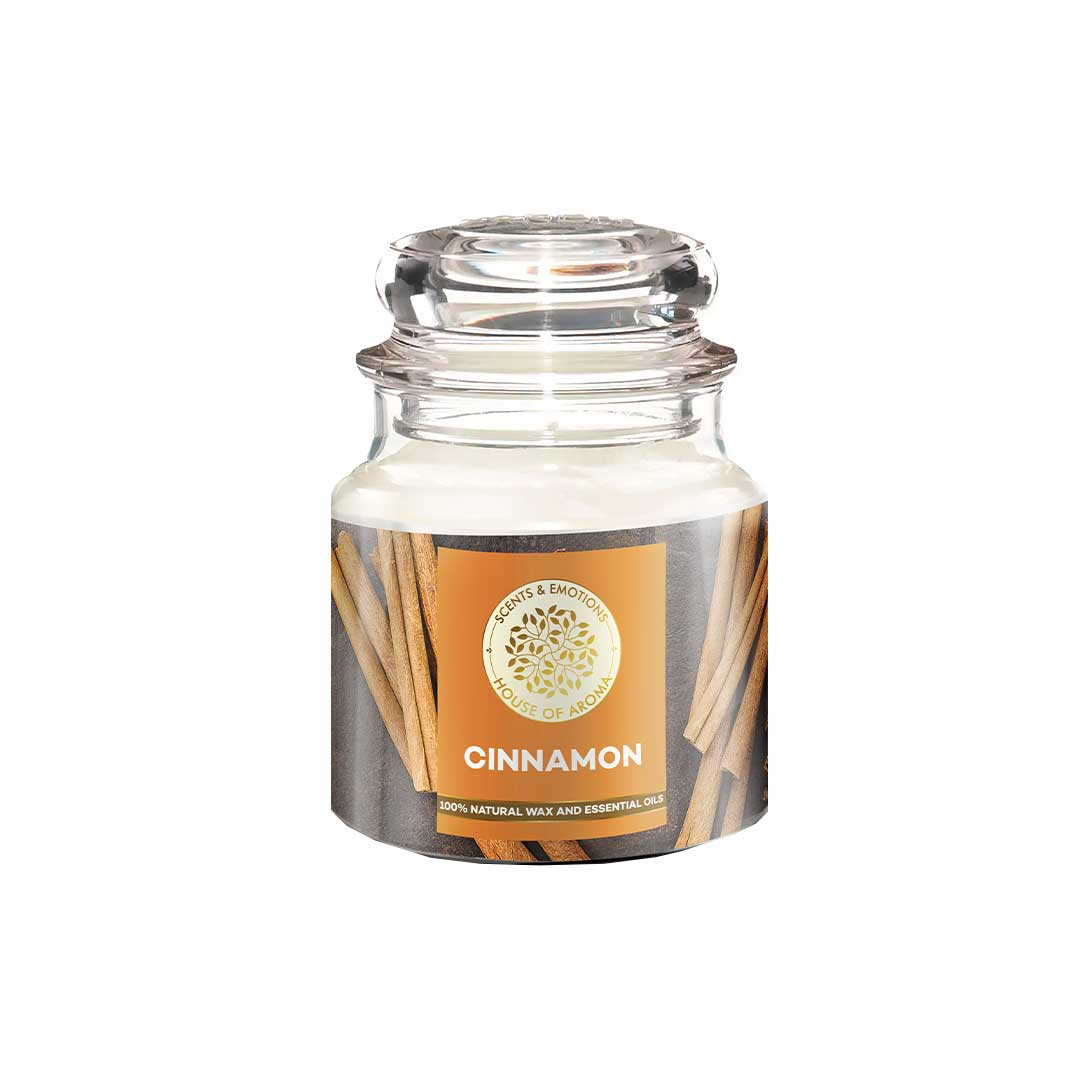 Vanity Wagon | Buy House of Aroma Cinnamon Scented Candle for Aromatherapy